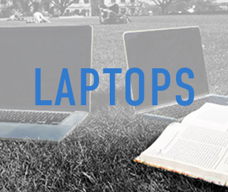 Picture of laptops. Click to shop Laptops.